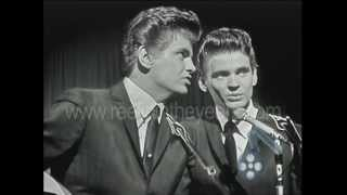 This beautiful clip of the Everly Brothers was filmed on their UK t...