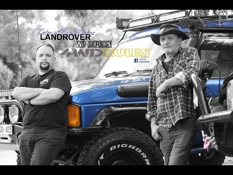 my4WDrules.com presents: Peter & Allan Williams Series 1 V8 Landrover Discovery