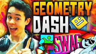 Geometry Dash! EL JET PACK, EL SWAG Y LOS VIOLINES LEGENDARIOS #27 - TheGrefg