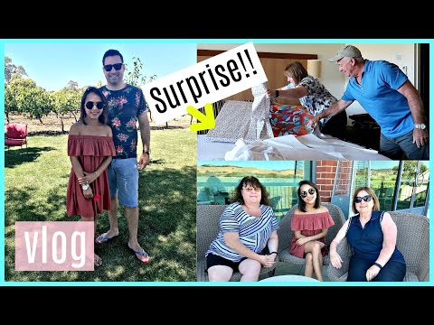 SURPRISING HER ON HER BIRTHDAY (WEEKEND WITH MY AUSTRALIAN FAMILY) ❤️ | rhazevlogs