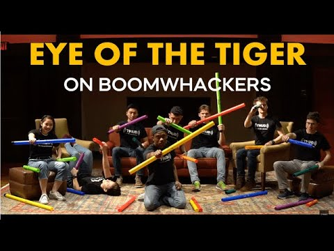 Eye of the Tiger - Für Boomwhacker-EnsembleChor