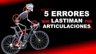 De bicicleta por en piernas dolor andar