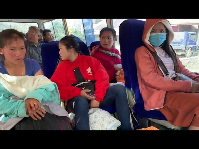 En route pour Oudoxmai au Laos