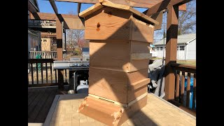 Building a Warre Beehive DIY Beginner Beekeeping