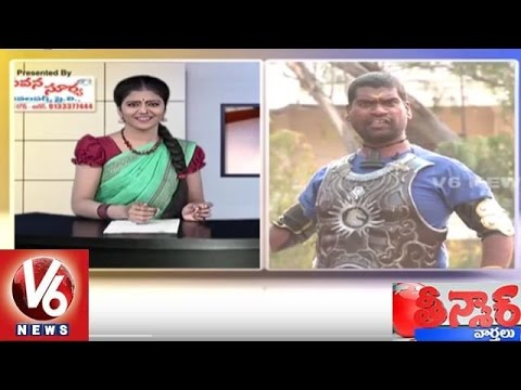 Bithiri Sathi As Baahubali | Sathi Satirical Conversation With Savitri | Teenmaar News | V6 News