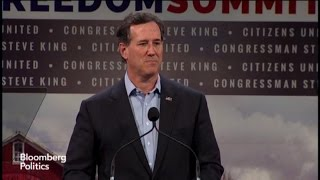 Santorum: Obama's Middle Class Economics Failed