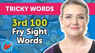 100 Tricky Words #10 | Fry Words | 3rd 100 Fry Sight Words