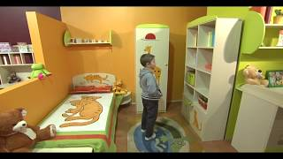 видео Как выбрать мебель для детской комнаты