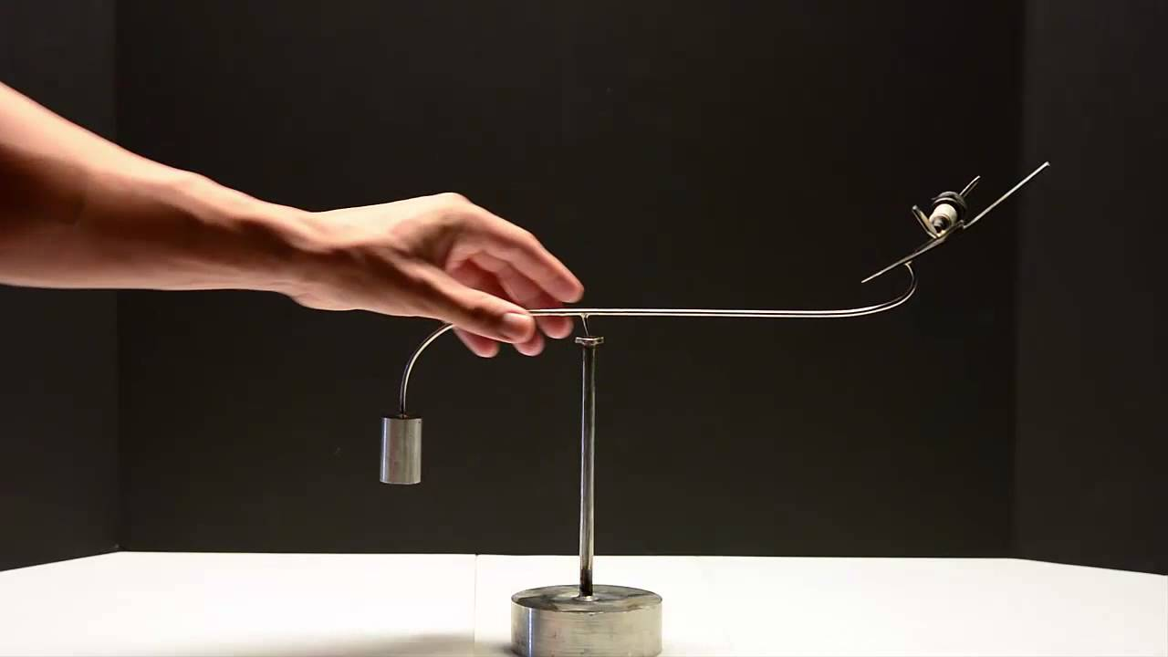 The Fighter Plane Kinetic Balancing Desk Toy Physics Sculpture You