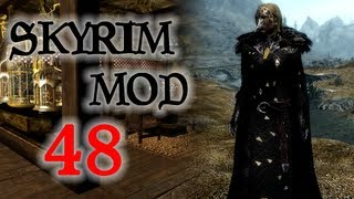 Skyrim Mod #48 - Weapons and Armor Repair, The Moors, Raven Witch armor, Элрик