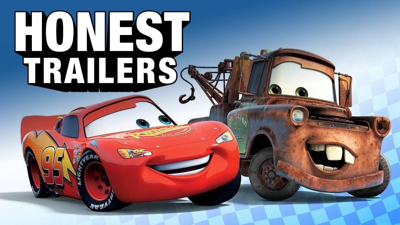 honest trailers cars cars 2