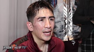 leo santa cruz rafael rivera post fight