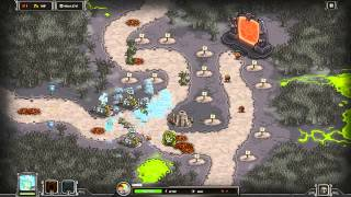 Kingdom Rush Walkthrough - Rotten Forest - Heroic [Steam version][HD]