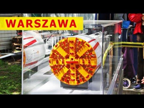 Na budowie stacji metra / Warsaw metro building site