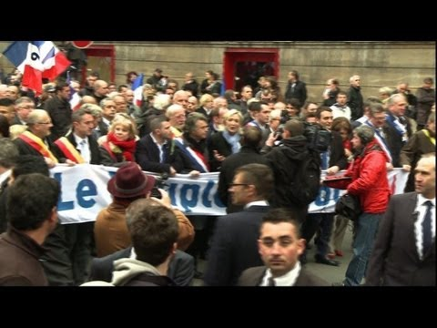 National Front hold May Day rally in Paris