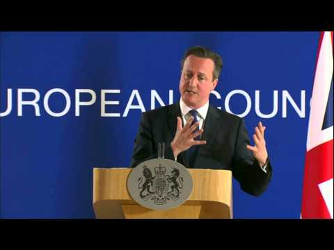 UK Prime Minister David Cameron on terror attacks, Greece and the UK's EU future