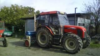 uprawa,siew oraz wałowanie żyta na kiszonke 2009