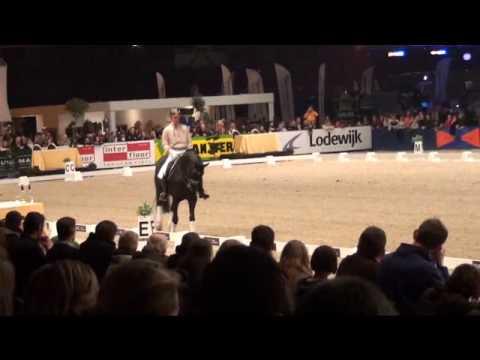 Edward Gal  met Totilas op Zwolle International deel 2