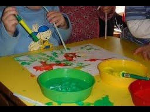 Manualidades con sorbetes para ni os 5 youtube for Actividades para jardin de infantes para imprimir