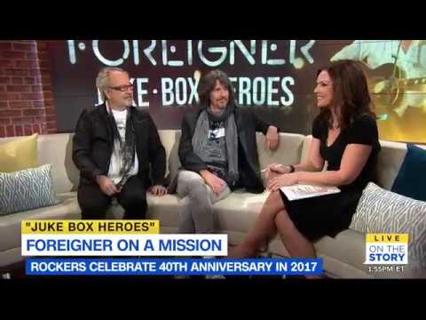 Foreigner Interview with 'On The Story' with Erica Hill