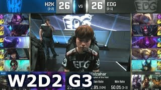 Baixar - H2k Vs Edg Worlds 2016 W2d2 Group C Lol S6 World Championship Week 2 Day 2 Edg Vs H2k G2 Grátis
