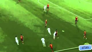 España Sub 21 realizó la jaula de pájaro en la Eurocopa