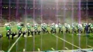 Cavaliers 2006 Encore Drum Break -quads fall off