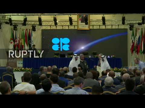 LIVE: OPEC/non-OPEC ministers hold press conference in Algiers