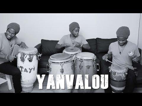 Haitian Drumming Ensemble - Yanvalou- Jeff Pierre
