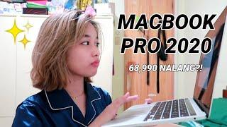 UNBOXING NEW LAPTOP! (macbook pro 2020) for school & editing + PR HAUL | Philippines