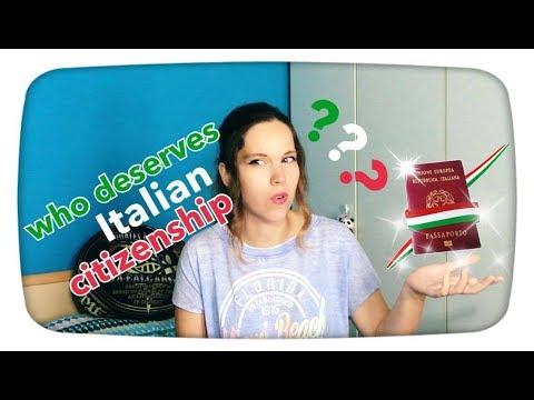 What's going on in Italy || ius Sanguinis VS ius Soli