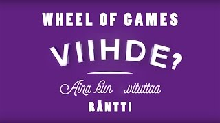 WHEEL OF CRINGE RÄNTTI (Wheel of games Splay Suomi)