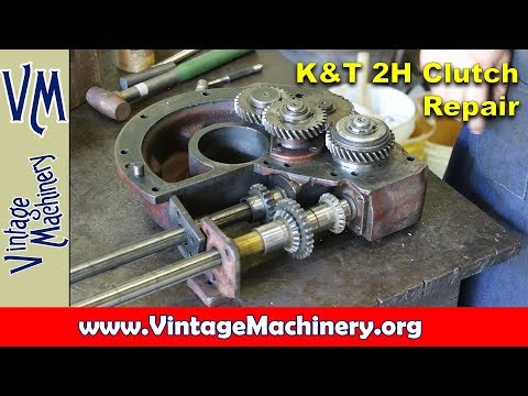 Kearney & Trecker Model 2H Horizontal Mill Rapid Traverse Clutch Repair