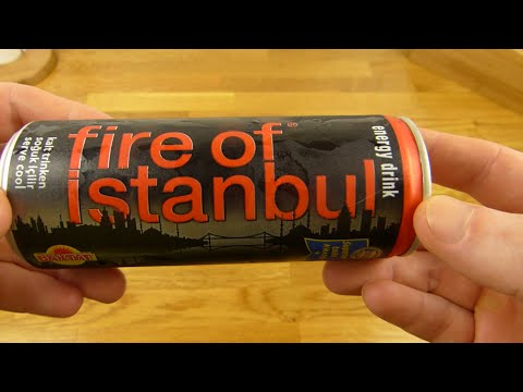 Fire of Istanbul Energy Drink