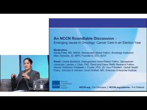 Emerging Issues in Oncology – An NCCN Roundtable Discussion