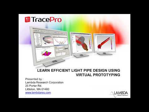 Learn Efficient Luminaire Design using Virtual Prototyping (Oct 2017)