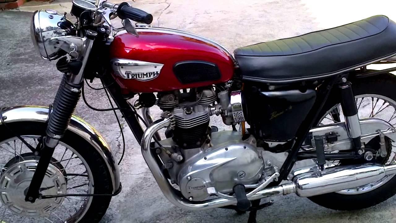 Triumph Bonneville 1968 T120r For Sale Youtube