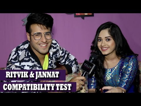 Jannat Zubair Rahmani & Ritvik Arora Aka Pankti & Ahaan Share Their Secrets   Compatibility Test