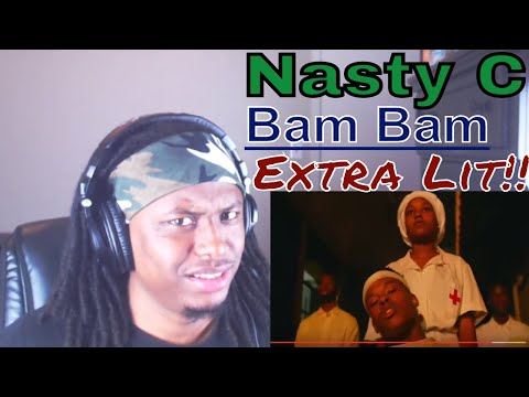 Nasty_C - Bamm Bamm (Official Music Video) - Reaction