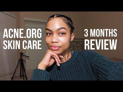 Acne.Org Skin Care 3 Months Review