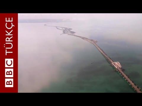 Putin direksiyona geçti, Kırım ile Rusya arasındaki köprüyü açtı