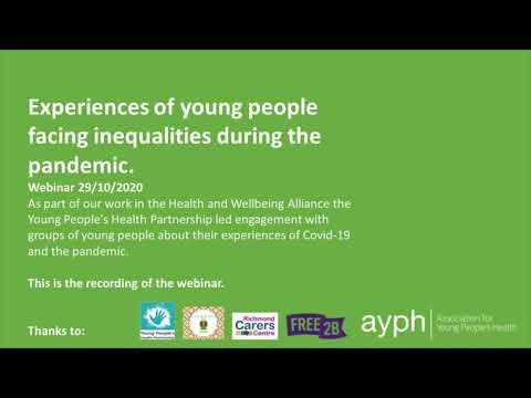 The experience of people facing health inequalities during Covid-19 lockdown