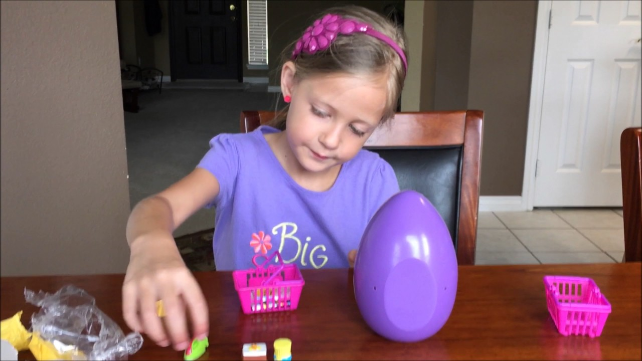 Shopkins Season 2 and a Squishy Pop - Surprise Egg - YouTube