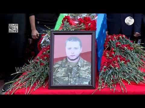 В Азербайджане простились с военнослужащим Дмитрием Солнцевым