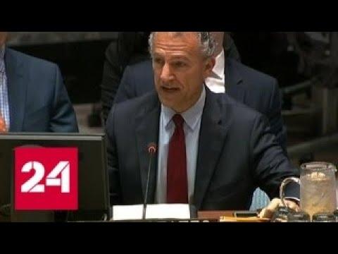 Споры о языке в Совбезе ООН: грубость Британии и ирония России - Россия 24