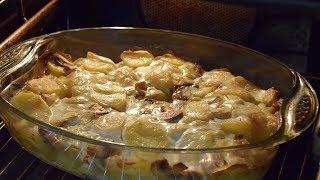 как приготовить картошку с грибами / Вкусное блюдо из грибов / Жарёха с грибами