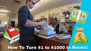 TURNING $1 into $1000 in BOOKS!