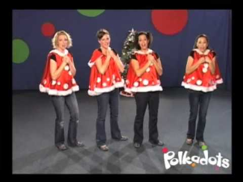 The Sights & Sounds of Christmas Song - The Polkadots - YouTube