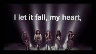 Fifth Harmony - Set fire to the rain (lyrics)