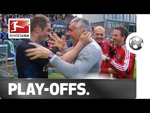 Relegation Play-Off - Hamburger SV stays in the Bundesliga